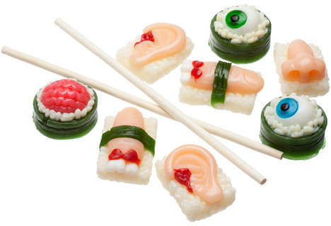 Eyeball Sushi Sweets