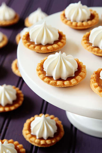 Bite-Sized Pumpkin Pies