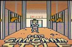 Pixelated Viral Song Shorts - Psy Rocks the 2D World in This 8-Bit Gangnam Style Video
