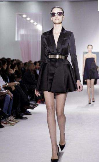 The Dior Spring 2013 Show Marked the Ready-to-Wear Debut of Raf Simons