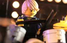 Animated Toy Concerts - Insomniac Animations LEGO Houdini Music Video Rocks the Show