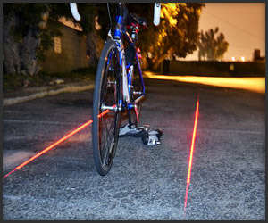 Projected LED Bike Lanes