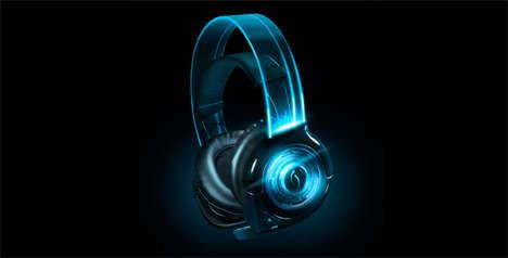 Neon Neodymium Headphones
