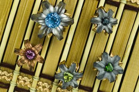Flower-Shaped Bullet Accessories