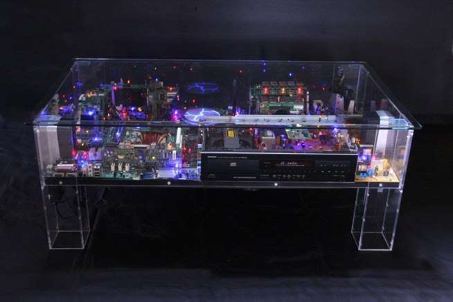 Electronic Diorama Furniture