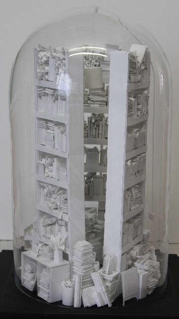 Cluttered Literature Sculptures