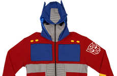 Retro Robot Sweaters - Transformers Hoodies Morph You into Autobot Leaders