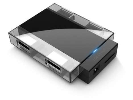 Multiple Device Transfer Hubs