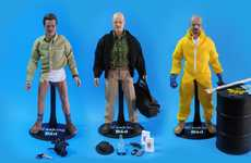 Drug-Dealing Dolls - The Breaking Bad Figurines by Trevor Grove Pay Tribute to the Show