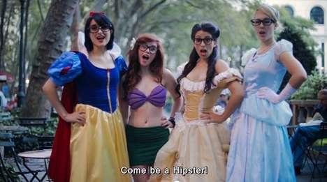 Cartoon Princess-Conversion Videos