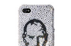 Memorializing Crystal Phone Shells - The Steve Jobs Swarovski Case Will Dazzle Your Eyes