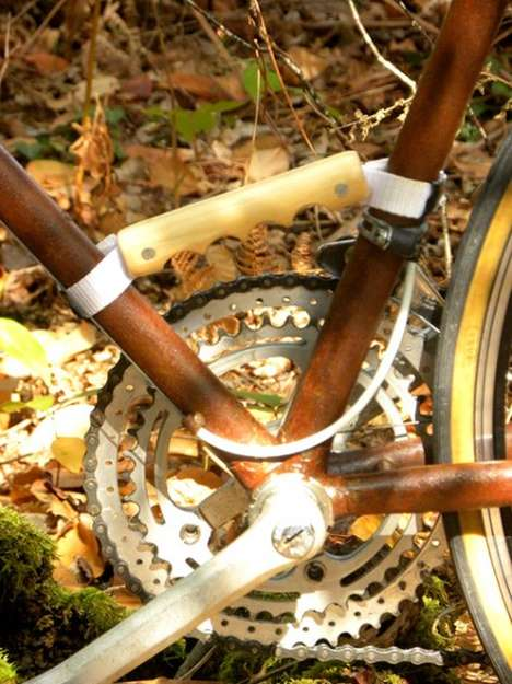 Recycled Wood Bike Carriers
