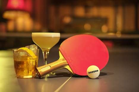 High-End Table Tennis Lounges