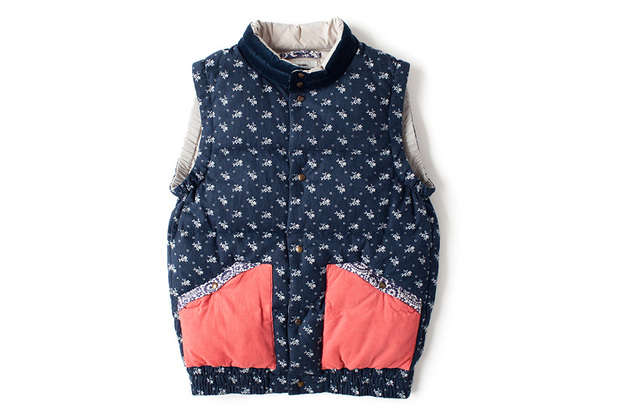 Salmon Pocket Insulated Vests