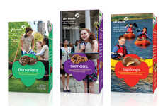 Youth Club Branding Makeovers - The Redesigned Girl Scout Cookies Packaging Celebrates 100 Years