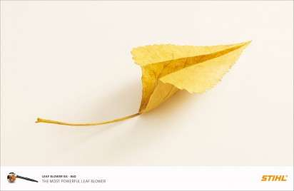 Paper Plane-Like Leaf Ads