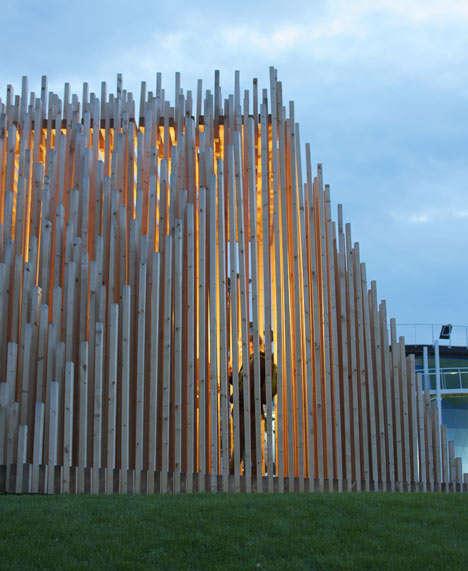 Buddhist Wooden Constructions