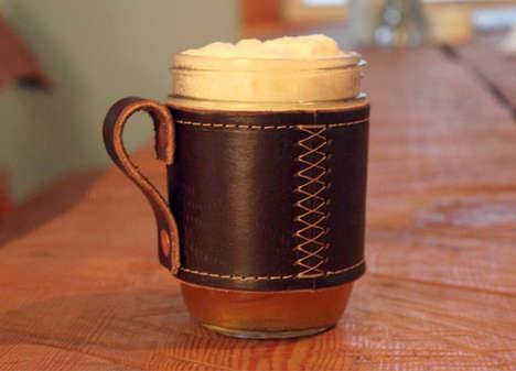 Medieval Mason Jar Goblets