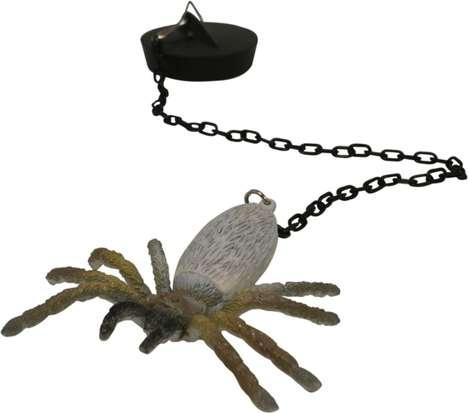 Spooky Spider Sink Plugs
