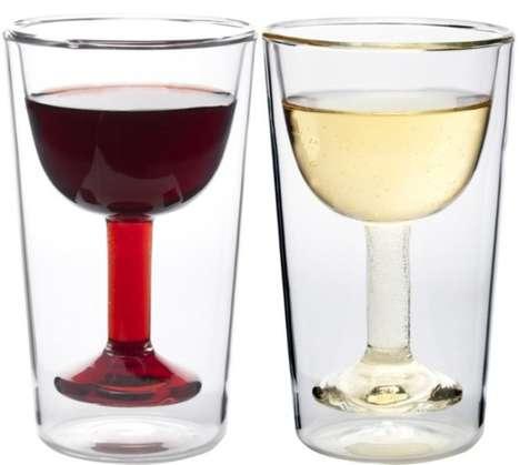 Deep Spill-Free Goblets