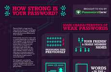 Online Anti-Theft Infographics - Password Genie Lends Helpful Advice for Executing Password Strength
