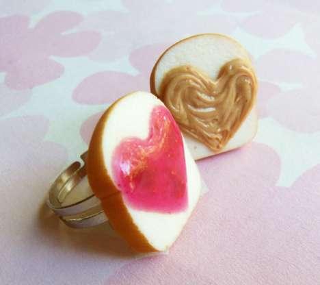 Heart-Shaped Sandwich Jewels