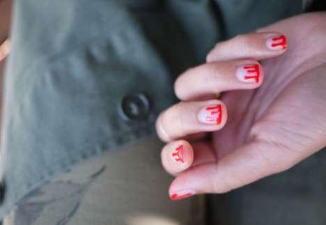Killer Splattered Manicures