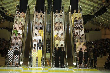 Luxe Escalator Runways