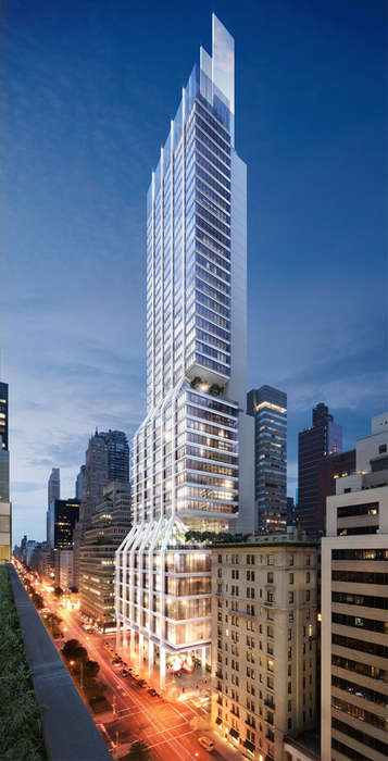 Urban Waterfall Architecture - 425 Park Avenue in NYC Gets a Makeover by Norman Foster