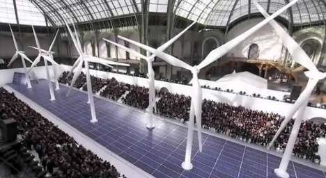 Chanel's Spring/Summer 2013 Show Incorporates Technology
