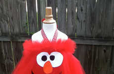 Puppet-Inspired Tutus - These Sesame Street Costumes are Funny and Feminine