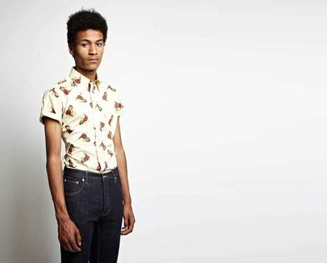Re-Released Vintage Print Shirts