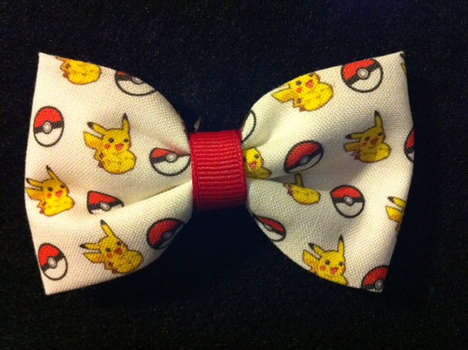 The Video Game Bow Ties by Crashed Hope Designs are Geeky