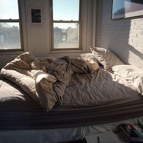 Disheveled Bedroom Photography
