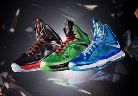 Diamond Shaded Shoes