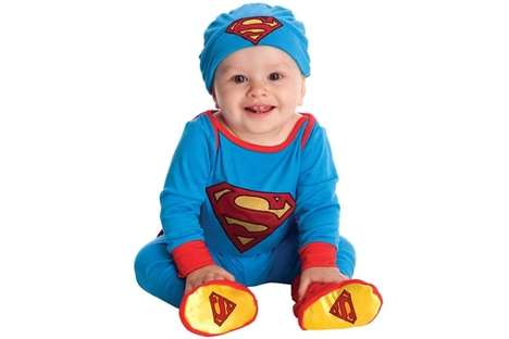 Comic Heroine Baby Suits