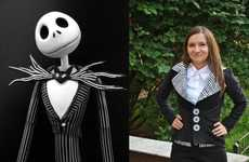 DIY Spooky Musical Garments - Impress People with This Nightmare Before Christmas Halloween Costume