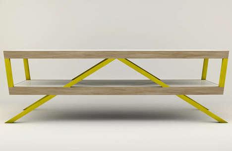 Bright Geometric Furniture