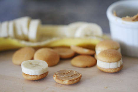 Sprinkled Banana Bites