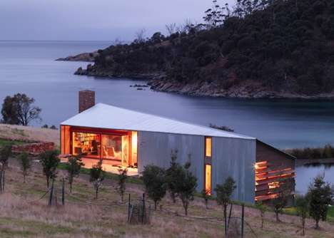 Wedge-Shaped Pastoral Cabins