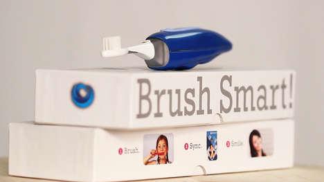 Self-Tracking Teeth Cleaners