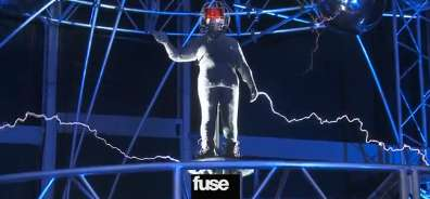 Faux Lightning Instrumentals - The David Blaine Stunt With Andrew W.K. is Electrifying
