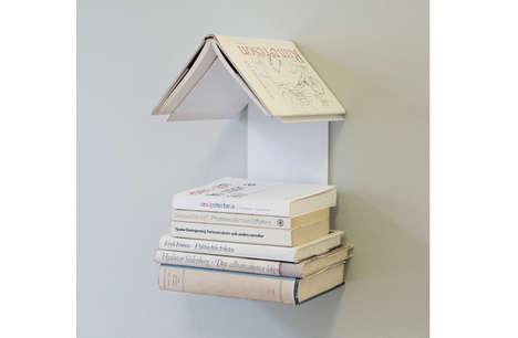 House-Shaped Bookshelves
