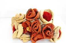 Festive Autumn Fabric Flowers