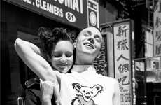 Grungy Couple Captures - The Jack and Jill Oyster Magazine Editorial is Rocker Chic