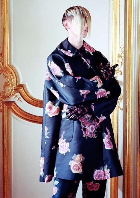 Geisha-Inspired Menswear