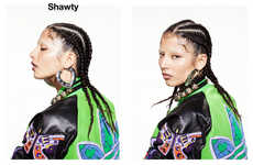 Feminine Street Swagger Photography - The Shawty Oyster Magazine Editorial Captures Extreme Glamour