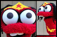 Superhero Sock Puppets