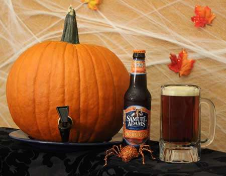 Pump-Tapped Pumpkins - Make Your Halloween Extra Happy with a Pumpkin Keg