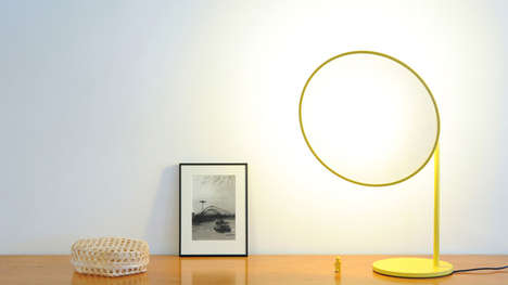 Holistic Home Lighting - The Rim Lamp Illuminates Your House with Heavenly Light